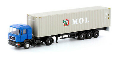 * Lemke Minis scala N LC4050 MAN F90 Container MOL Nuovo OVP