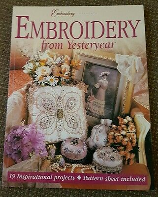 Embroidery and Cross Stitch presents Embroidery from Yesteryear Magazine