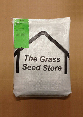 10.00 Kg QUALITY HARD-WEARING LAWN SEED Garden Grass For Light Loam to Clay Soil