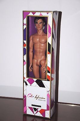 """Integrity Toys Color Infusion """"Miles Morgan"""" -NRFB - NUDE FIGURE ONLY"""