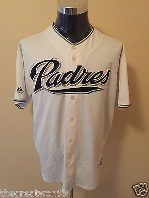 MLB San Diego Padres XL** Embroidered Baseball Jersey by Majestic