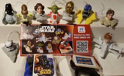 Star Wars 2016, Kinder, compl. set with all Bpz