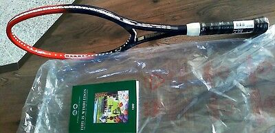 1 Boris Becker Worldchampion Racket 1995 with Number 2218 NEW and book - GREAT -