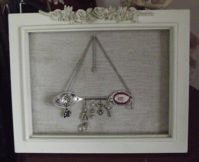 Mixed Media Metal Collage Framed Art Using Vintage And Found Objects Must See