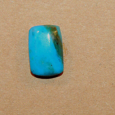 Peruvian Blue Andean Opal 14.5x9.5mm with 5mm dome Cabochon from Peru (11725)