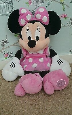minnie mouse teddy from disney store