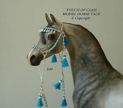 MODEL HORSE ARABIAN HALTER LSQ Made to fit Breyer and Peter Stone Models E48