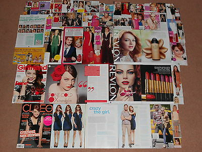 50+ EMMA STONE Magazine Clippings
