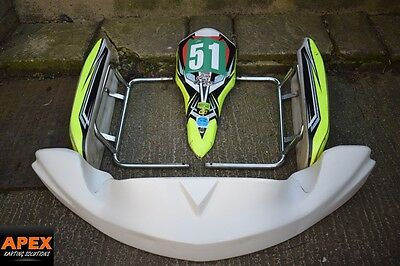 OTK POD SET WITH BARS  - ROTAX MAX GO KART-Tonykart,Wildkart, GRICE, KOSMIC
