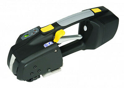 ZXT Professional Battery Powered Electronic Pallet Strapping Tool 16mm Strap NEW