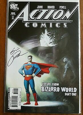 Action Comics 855 Superman Dynamic Forces Eric Powell Signed