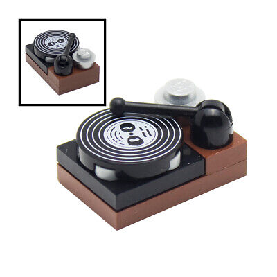 LEGO Vinyl Record Player for Minifigures Music
