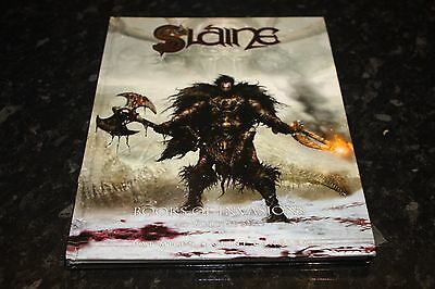 hardback 2000ad graphic novel slaine books of invasions volume 3