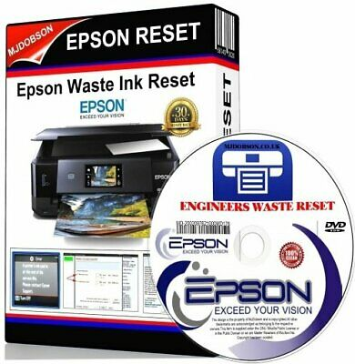 Epson Printer Reset Waste Ink Pads ✅Service Error Fault Key ✅