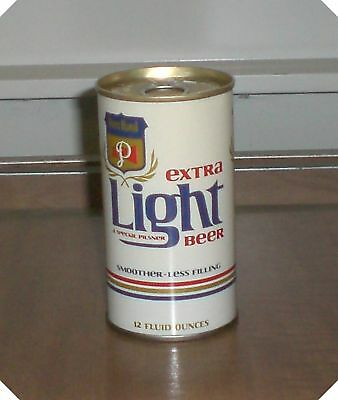 Vintage Pull Tab Peter Hand Extra Light Empty Beer Can