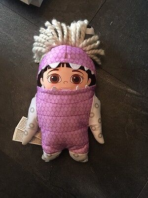 """Boo In Monster Suit From Monsters Inc. Plush / Soft Toy Talking Babbling 13"""""""
