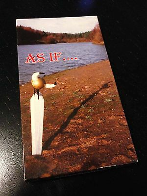 AS IF Skateboard VHS by Andy Evans - UK Skateboarding - Rare treat!!!