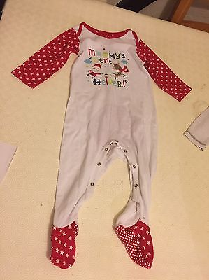 Unisex 12-18 Months Christmas Sleepsuit / Outfit