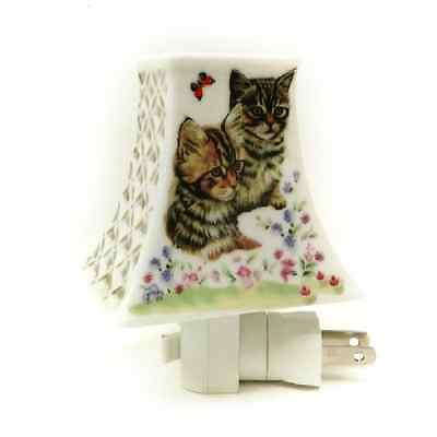Adeline or Dreamerz NL207 Two Cats in The Garden Night Light