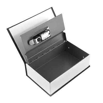Diversion Safe Dictionary Black Hidden Box with Combination Lock