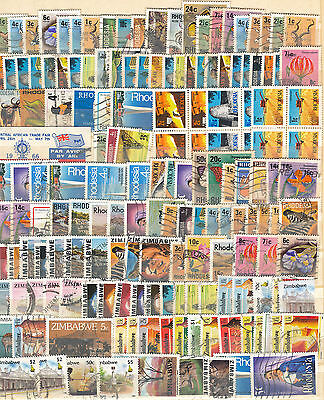 Collection Of Rhodesia/zimbabwe M.mint And Good Used
