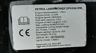 briggs and stratton 450 series petrol mower