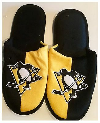 Pittsburgh Penguins NHL Logo Slippers