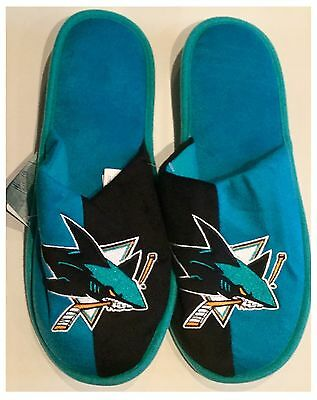 San Jose Sharks NHL Logo Slippers