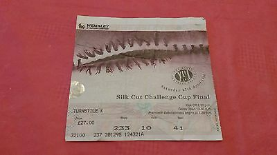 Bradford Bulls v St Helens 1996 Challenge Cup Final Used Rugby League Ticket