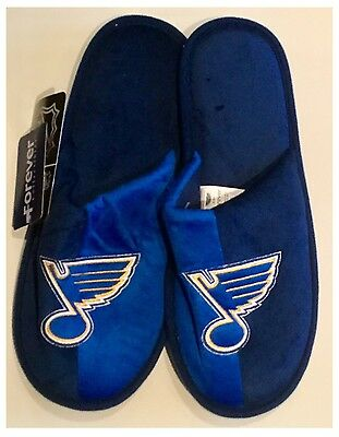 St Louis Blues NHL Logo Slippers