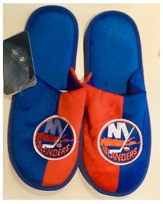 New York Islanders NHL Logo Slippers