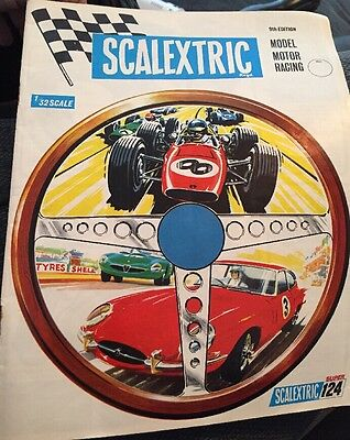 Scalextric Catalogue 9th Edition Vintage Rare Item