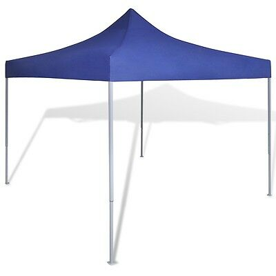 Waterproof Foldable Party Wedding Tent 3x3m Pavilion/Canopy Outdoor Blue