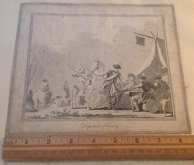 Antique Milirary caaraly Print