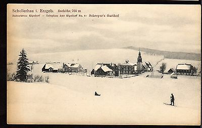 Postcard ~ SCHELLERBAU Erzgeb ALTENBERG Germany ~ Early