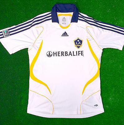 LA Galaxy 2007/08 Home Shirt Beckham XL Excellent Condition