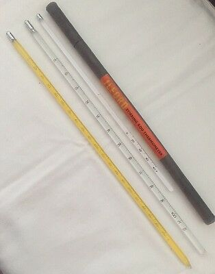 Ilford Stirring Rod Thermometer plus two other Thermometers