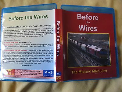 Before The Wires The Midland Main Line Blu Ray