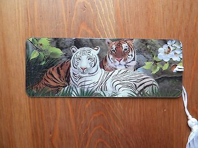 3D Tigers bookmark - see photos
