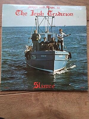 Slainte - Songs and Music in the Irish Tradition - Very Rare vinyl LP