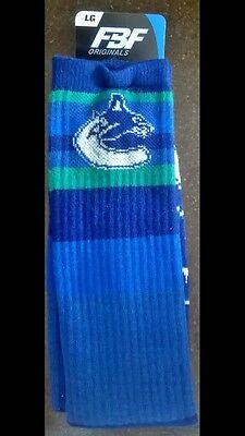 Vancouver Canucks NHL Tube Mens Socks
