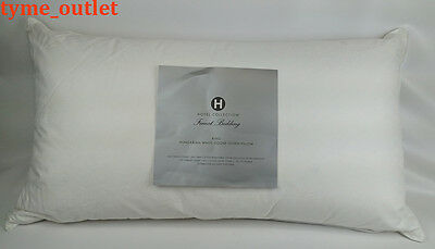 Hotel Collection Finest Pillow Hungarian White Goose Down KING 600 TC MSRP $550