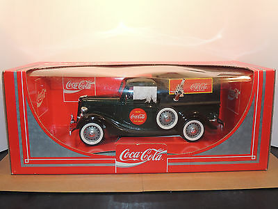 Coca-Cola Die-Cast Toy Vehicle in original package Made in France 1979 (11731)