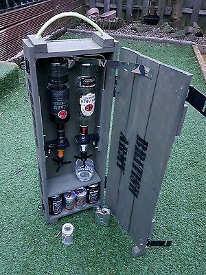 Ammo box  alternative to jerry can bar man cave 21st 18th Stag Do army style