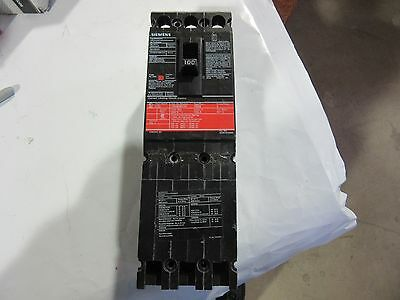 Siemens CED63B100 Current Limiting Circuit Breaker 3 Pole 100 Amps 600V VGC!!!