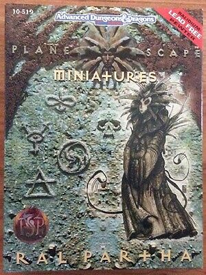 Ral Partha AD&D Planescape Pewter Miniatures in Box, TSR