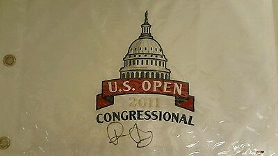 Rory Mcilroy US Open Autograph flag