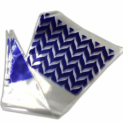 BLUE Funky Cone Sweet Bags Party Favours Cello Bag