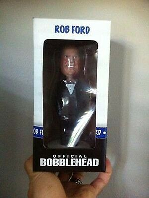 Rob Ford Bobblehead Tuxedo Brand New In Box Not Opened