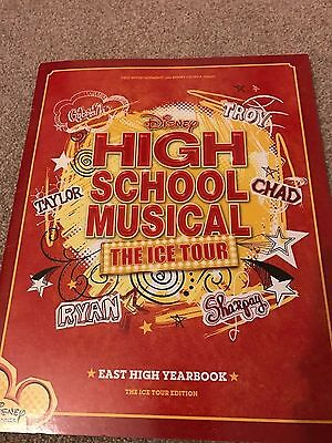 High School Musical The Ice Tour programme
